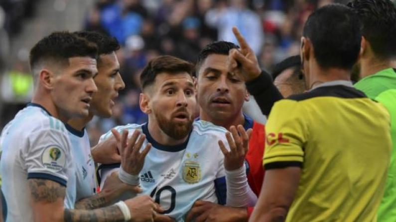 """Arquero de Universidad de Chile trató de """"caradura"""" a Messi: """"Tienen un mundial en dictadura y otro con un gol con la mano"""""""