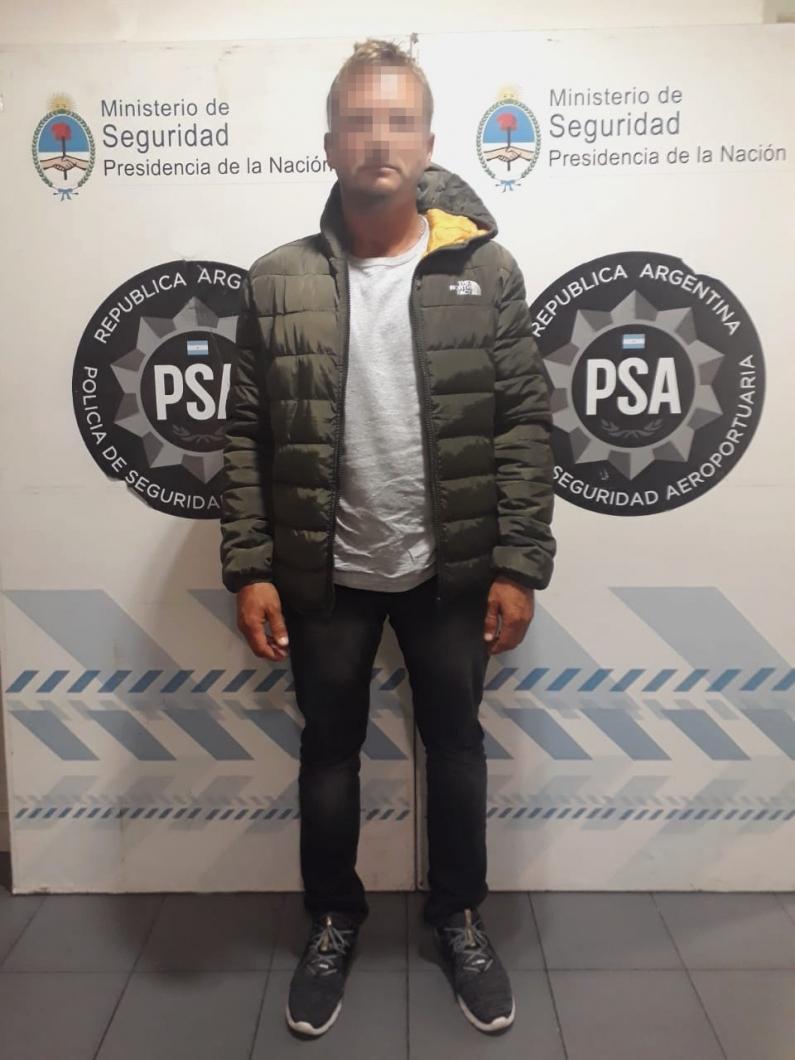 Buenos Aires: Buscado por la justicia, capturado por la PSA