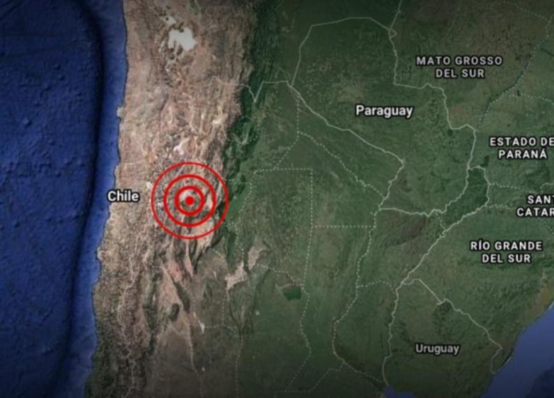 Chile: Fuerte sismo hizo que se sintiera en Mendoza, San Juan, La Rioja, Tucumán y Córdoba
