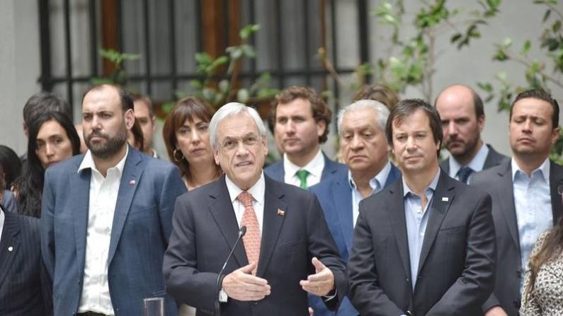 Chile: Los 7 puntos del plan que lanzó el presidente para las empresas afectadas por las protestas