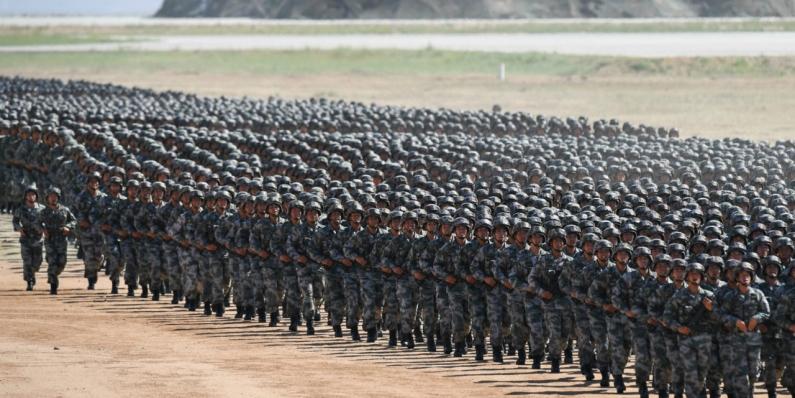 China envía a más de 60.000 soldados a plantar árboles