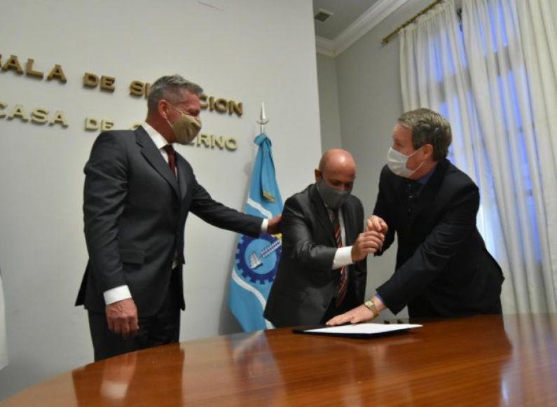 Chubut: El vice gobernador será titular del poder ejecutivo hasta el 11 de enero