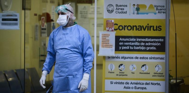 Coronavirus en Argentina: murió una mujer en la ciudad de Buenos Aires y otra en Chaco y ya son 8 las víctimas fatales