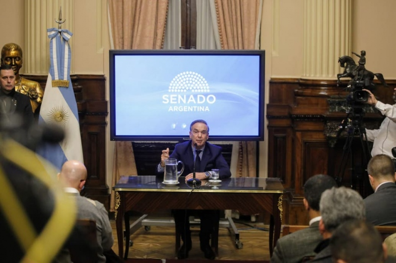 """Miguel Pichetto, sobre la propuesta para ser vice de Macri: """"Inmediatamente le dije que sí"""""""