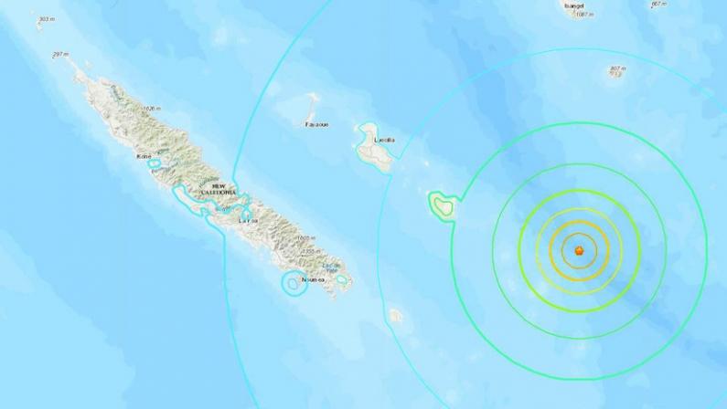 Nueva Caledonia: Alerta de tsunami tras un potente terremoto