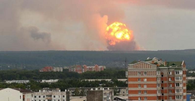 Rusia: Detectan una fuga de radiactividad tras una explosión en una base militar