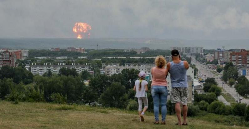 """Rusia: La explosión en un polígono militar se produjo al probar una """"nueva arma"""" nuclear"""