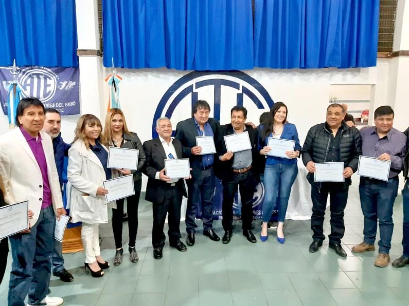 Tierra del Fuego: Asumió la nueva comisión directiva de gremio estatal Río Grande