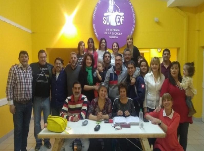 Tierra del Fuego: Asumió la nueva conducción del gremio de la educación de Río Grande
