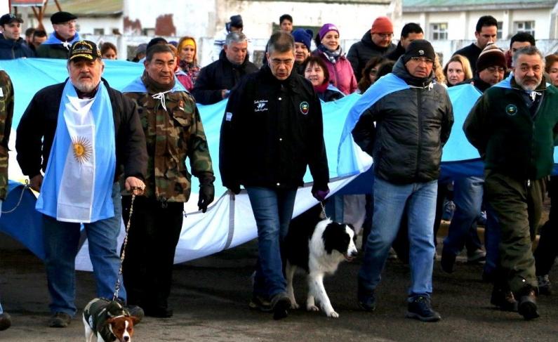 Tierra del Fuego: Desde el centro de veteranos de guerra convocan a repudiar el acuerdo Foradori – Duncan