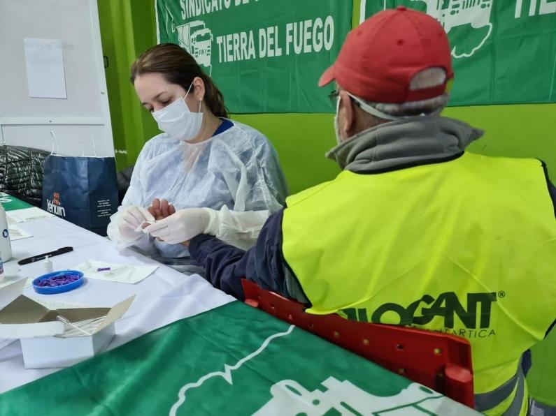 Tierra del Fuego: Desde el municipio de Ushuaia alcanzarán los 1400 testeos rápidos de anticuerpos al Covid-19