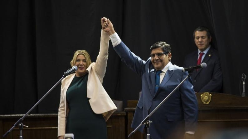 Tierra del Fuego: La gobernadora renuncia el 09 de diciembre y asume por una semana el vice Juan Carlos Arcando