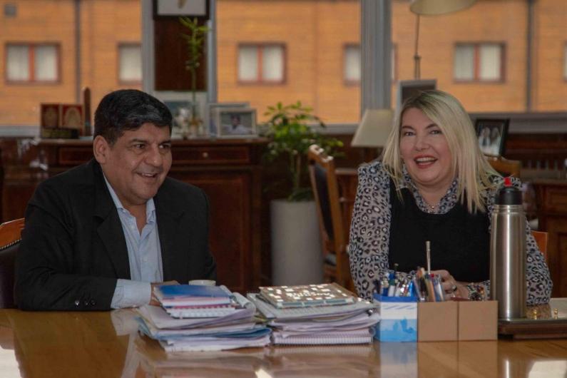 """Tierra del Fuego: La gobernadora y el """"vice"""" analizaron agenda de trabajo para el presente año"""