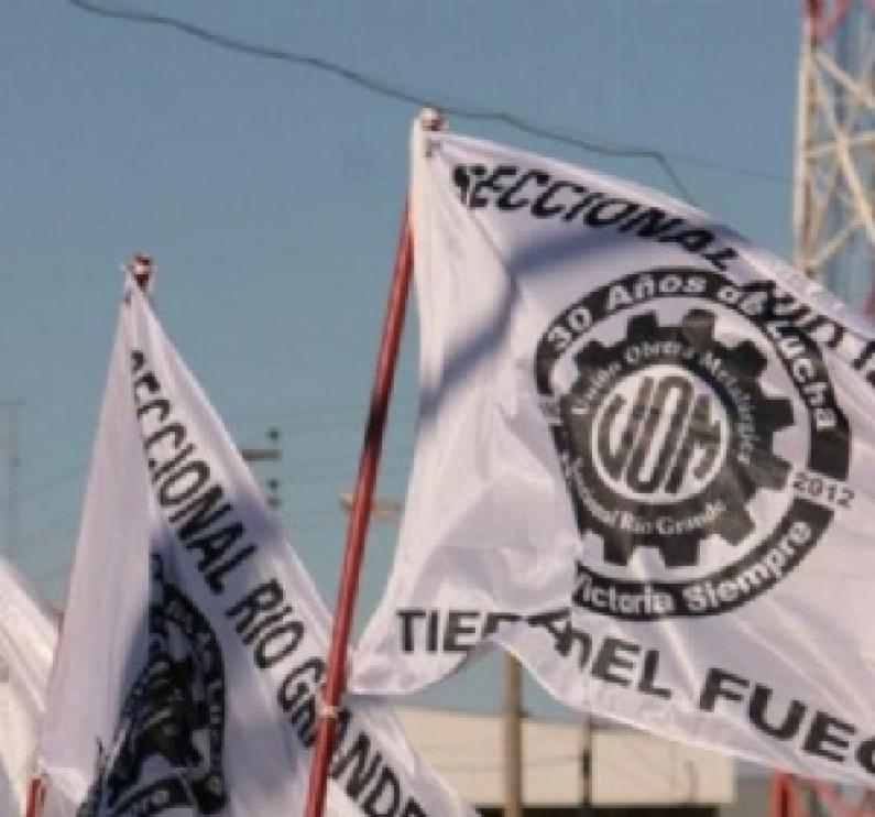 Tierra del Fuego: Gremio metalúrgico convoca a una manifestación para la presente jornada
