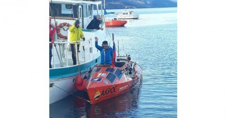 Tierra del Fuego: Luego de larga travesía marítima llegó a Ushuaia ex marino ruso