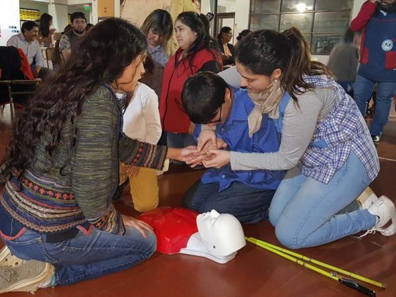 Tierra del Fuego: Más de mil estudiantes recibieron capacitación en R.C.P.