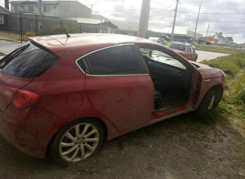 Tierra del Fuego: Otro robo de una puerta a un automóvil