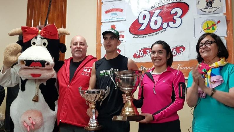 Tierra del Fuego: Prueba atlética en conmemoración de un nuevo aniversario de reconocida radio F.M. de Río Grande