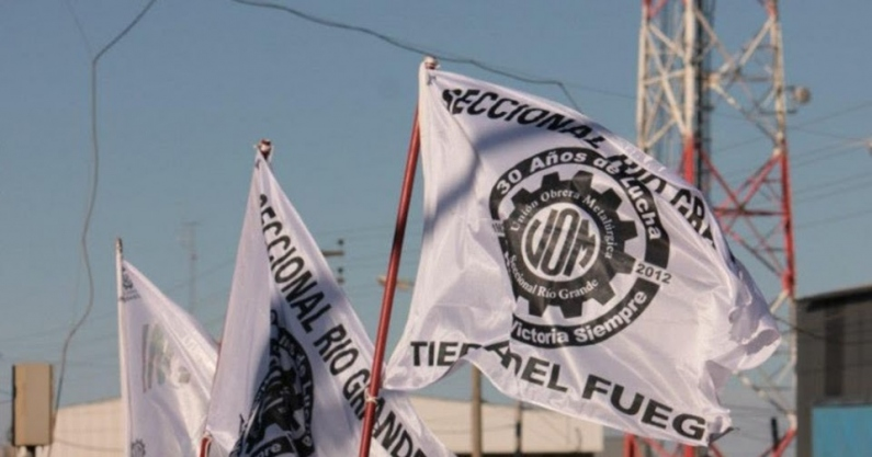 Tierra del Fuego: Trabajadores de electrónica paralizaron la fábrica en reclamo del premio anual