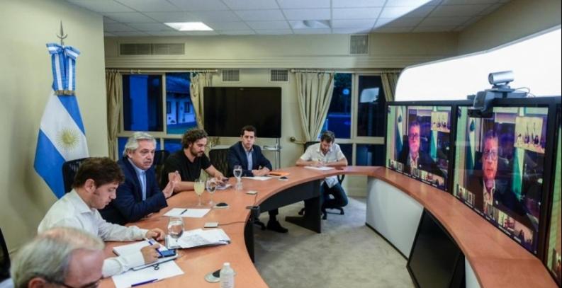 Fernández mantendrá hoy una nueva vídeo conferencia con los gobernadores
