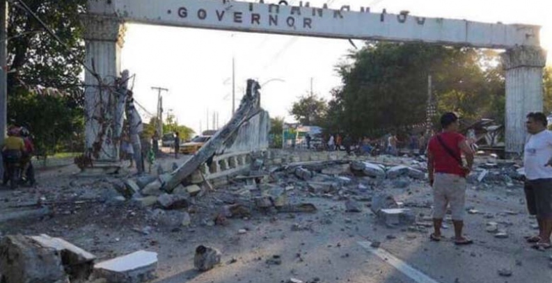 Filipinas: Un terremoto de 6,3 mata a cinco personas
