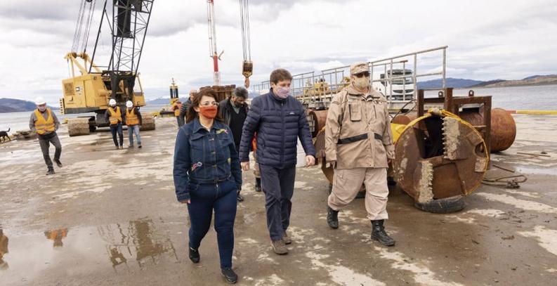 Tierra del Fuego: La ampliación del muelle del puerto de Ushuaia es clave para la provincia dijo el gobernador