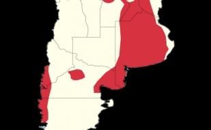 El mapa del hantavirus en el país