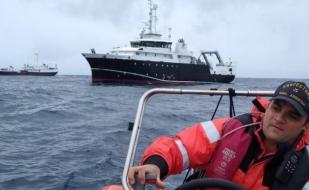 """Tierra del Fuego: El """"Angelescu"""" finalizó su campaña en Malvinas"""