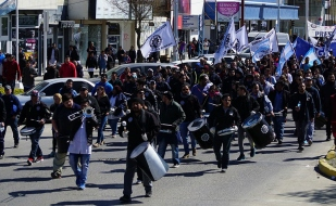 Tierra del Fuego: El paro nacional de la CGT cuenta con una amplia adhesión de los gremios de la provincia