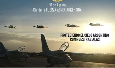 10 de agosto: Día de la fuerza aérea argentina