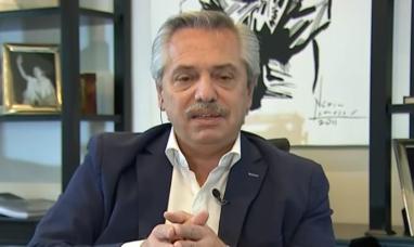 """Alberto Fernández: """"No me va a temblar el pulso para prorrogar la cuarentena"""""""