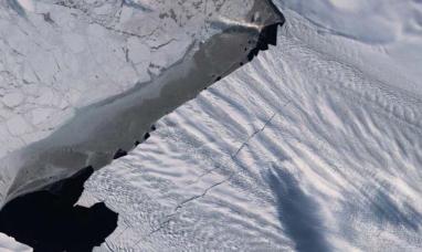 Alerta en la Antártida por nuevas grietas en glaciar de casi el tamaño de Manhattan