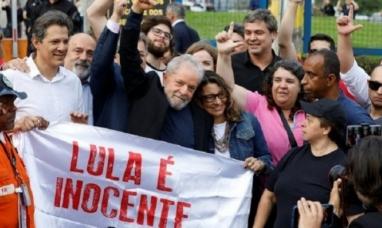 "Brasil: ""No arrestaron a un hombre, quisieron matar una idea"" dijo Lula Da Silva tras su liberación"