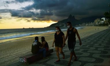 Brasil: El país se convierte en el segundo con más casos de covid-19 en el mundo