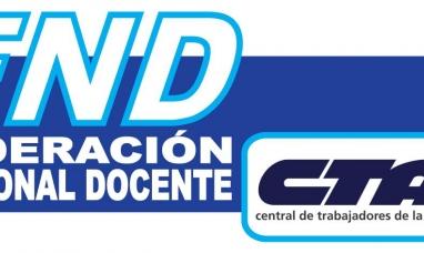 Buenos Aires: La federación nacional docente llama a parar en todo el país