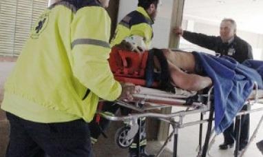 Camionero argentino volcó en la ruta chilena y quedó gravemente herido