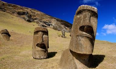Chile: Científicos resuelven el misterio de la ubicación de los moáis en la isla de pascuas