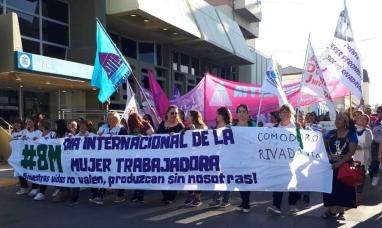 Chubut: El 8M en Comodoro Rivadavia tendrá marcha y actividades culturales