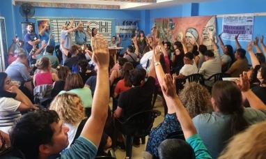 Chubut: El gremio de la educación decidió extender el paro por otras 72 horas