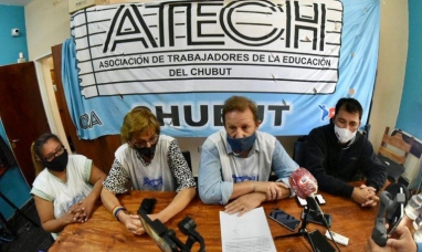 Chubut: Gremio de la educación volverá a concretar paro de actividades el jueves y viernes de esta semana