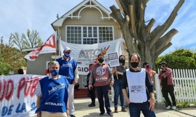 Chubut: Sindicatos estatales arrancan paro general por salarios adeudados