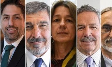 Cinco ministros quedaron afuera del gabinete nacional
