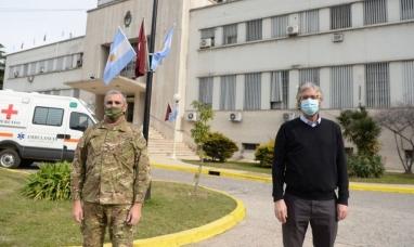 Comenzó la vacunación de voluntarios en el hospital militar