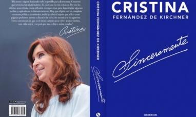"""Cristina en primera persona: las frases más destacadas de """"Sinceramente"""", su primer libro"""