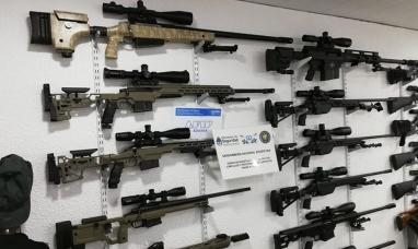Desbaratan una mega banda internacional dedicada al tráfico de armas