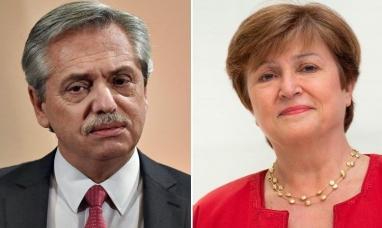Deuda Externa: Alberto Fernández se reúne hoy con la directora del FMI