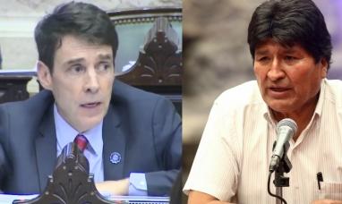 Diputado repudió la distinción a Evo Morales y pidió a la UNTDF que revea la decisión