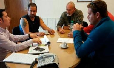 Dirigentes de SITOS fueron  recibidos  por secretario municipal