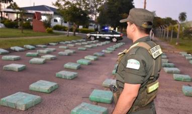 Entre Ríos: Fuerzas federales interceptaron y secuestraron dos mil kilos de marihuana en Victoria