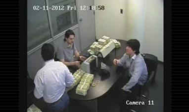"""Escándalo: un video muestra al hijo de Lázaro Báez contando dólares en una financiera """"K"""""""